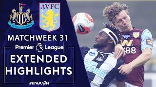Newcastle United v. Aston Villa | PREMIER LEAGUE HIGHLIGHTS | 6/24/2020 | NBC Sports