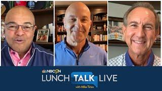 Jerry Bailey, Randy Moss expect more spectatorless horse racing   Lunch Talk Live   NBC Sports