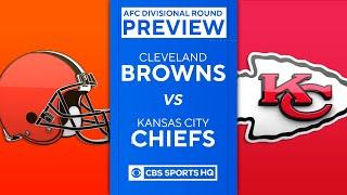 Browns vs Chiefs: 2021 Divisional Round Preview | NFL | CBS Sports HQ