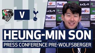 Heung-min Son on Europa League, his form & playing with Harry Kane | HEUNG-MIN SON PRESS CONFERENCE