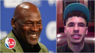 LaMelo Ball reacts to being picked by Michael Jordan's Hornets: 'Straight blessing' | 2020 NBA Draft