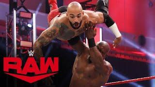 Ricochet vs. Bobby Lashley: Raw, June 29, 2020