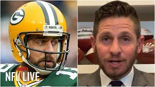 Reacting to Aaron Rodgers' comments on his future with the Packers | NFL Live