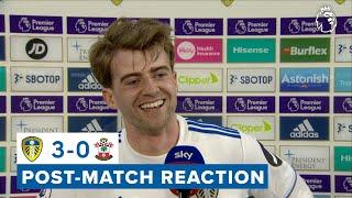 """""""More important than anything was winning today""""   Patrick Bamford   Leeds United 3-0 Southampton"""