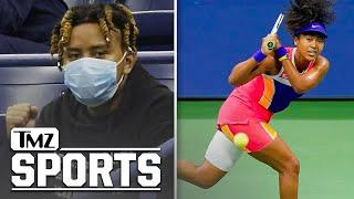 Naomi Osaka's BF, Rapper Cordae, Cheers On Tennis Star From Stands At US Open | TMZ Sports