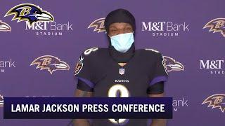 Lamar Jackson Talks About Return From COVID-19 | Baltimore Ravens