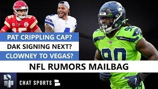 NFL Rumors Mailbag: Patrick Mahomes Contract Crippling Chiefs Salary Cap? Dak Prescott Signing Next?