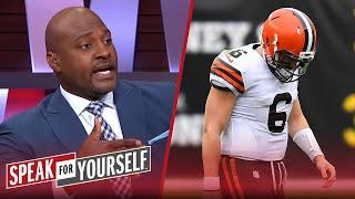 It's a wrap for Baker Mayfield after blowout loss to Steelers — Wiley | NFL | SPEAK FOR YOURSELF