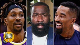 JR Smith is 'a Dwight Howard story in the making' on the Lakers - Kendrick Perkins | The Jump
