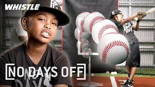 10-Year-Old Baseball Superstar Has The SMOOTHEST Swing!