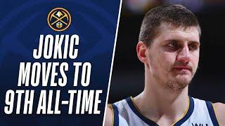 Nikola Jokic Moves To 9th All-Time On The TRIPLE-DOUBLES list!