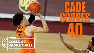 Cade Cunningham GOES OFF for 40 points against Oklahoma [HIGHLIGHTS} | ESPN College Basketball