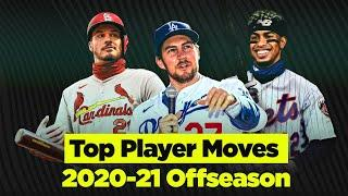 Biggest Player Moves of the MLB Offseason! (New faces in new places! ft. Lindor, Arenado, Bauer)