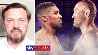 Andy Lee explains why he believes Tyson Fury will beat Anthony Joshua within eight rounds