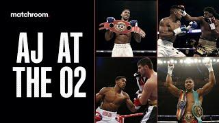 Back to The Lion's Den | Anthony Joshua's KO's at The O2 before Kubrat Pulev