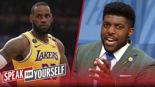 LeBron is out, Lakers will end up playing roulette with NBA playoffs — Acho | SPEAK FOR YOURSELF
