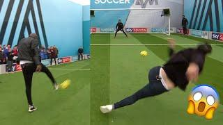 Absolute chaos as EVERYONE struggles to volley!   Soccer AM Pro AM