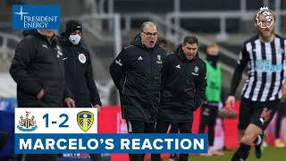 """""""It was a game we needed to win""""   Marcelo Bielsa reaction   Newcastle United 1-2 Leeds United"""