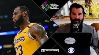 LeBron James leading voice for NBA return | Nothing Personal with David Samson
