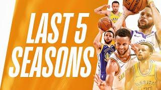 Stephen Curry From DEEP + The Foul! | Last 5 Seasons