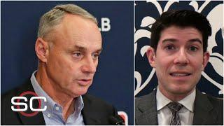 Rob Manfred has warned the MLB players union that the season is at risk   SportsCenter