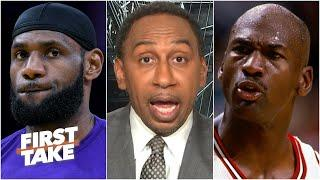 Stephen A. compares LeBron & MJ on their leadership styles   First Take