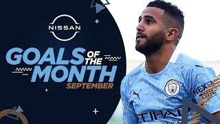 SEPTEMBER GOALS OF THE MONTH | 20/21 | Delap, Sterling, Mahrez & Foden