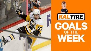 NHL Goals Of The Week: Crosby's Crazy Hand-Eye Coordination