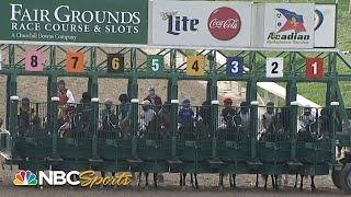 Early speed helps propel Hot Rod Charlie to Louisiana Derby 2021 win | NBC Sports