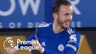 James Maddison slots Leicester City in front of Brighton | Premier League | NBC Sports