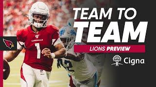 Week 3 Preview vs. Detroit Lions w/ Team Reporter Tori Petry | Cardinals Team to Team