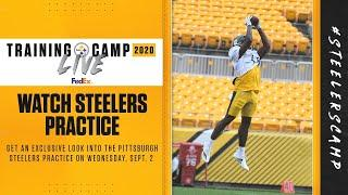 Steelers Training Camp Live: An exclusive look inside of practice (Sept. 2)