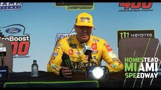 Kyle Busch's full post-race championship presser | NASCAR at Homestead-Miami Speedway