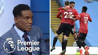 Reactions after Manchester United beat Manchester City in derby | Premier League | NBC Sports