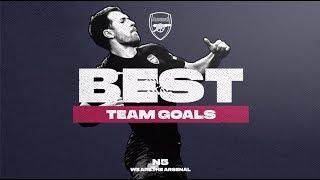 These goals are | Arsenal's top team goals | Wilshere, Aubameyang, Ozil, Ramsey