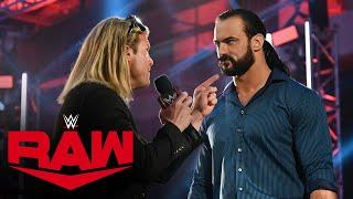 Dolph Ziggler asks Drew McIntyre for a rematch: Raw, July 20, 2020