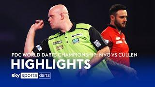 The most incredible match in World Darts Championship history?!? | van Gerwen v  Cullen | Highlights