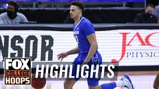 No. 15 Creighton holds off late push from Marquette | FOX COLLEGE HOOPS HIGHLIGHTS