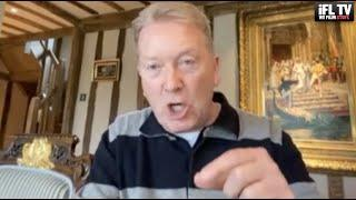 'INSULTING & DISGUSTING!!!' - FRANK WARREN *MUST SEE RANT* / FURIOUS WITH LACK OF FUNDING FOR BOXING
