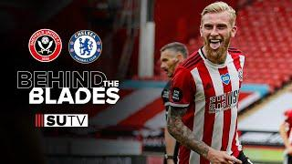 Behind the scenes and alternative highlights   Sheffield United 3-0 Chelsea   Behind the Blades