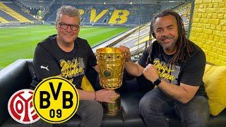 After the Cup win there is still work to do! | Matchday Magazine with Nobby & Owo | Mainz - BVB