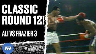 Round 12 from Ali vs Frazier 3 | 1975 Round of the Year | GREAT ROUNDS IN BOXING