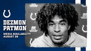 Dezmon Patmon On Coming To Camp Prepared, Learning From T.Y. Hilton