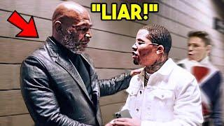 "*WOW* MIKE TYSON GOES OFF AT GERVONTA DAVIS FOR DUCKING RYAN GARCIA ""YOU ARE LYING!"""
