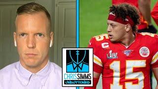 Simms: Lamar Jackson could rank over Patrick Mahomes in 2020   Chris Simms Unbuttoned    NBC Sports