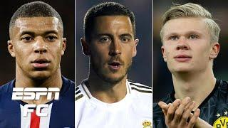 Is Mbappe-Hazard-Haaland the Real Madrid trident to succeed Bale-Benzema-Ronaldo? | ESPN FC