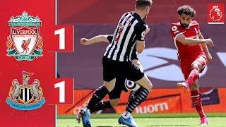 Highlights: Liverpool 1-1 Newcastle | Late equaliser cancels out Salah's volley