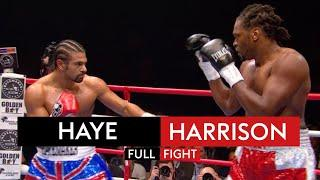 David Haye hammers Audley Harrison within 3 rounds | Fight Rewind