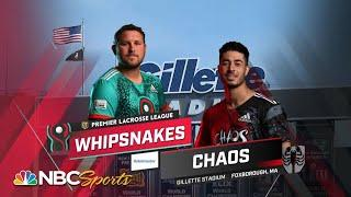 Premier Lacrosse League: Whipsnakes vs. Chaos   EXTENDED HIGHLIGHTS   6/5/2021   NBC Sports