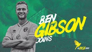 INTERVIEW   Ben Gibson joins Norwich City on loan from Burnley